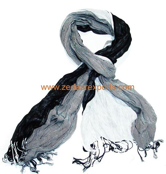 7829 cotton three layer scarf