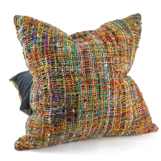Recycled Silk Cushion Cover
