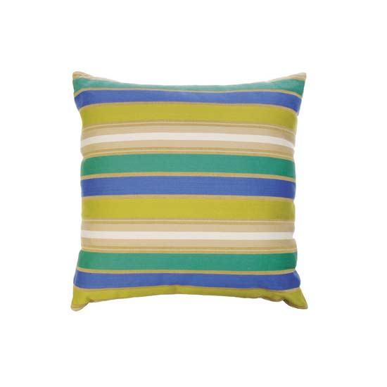 Silk Stripe Cushion Cover